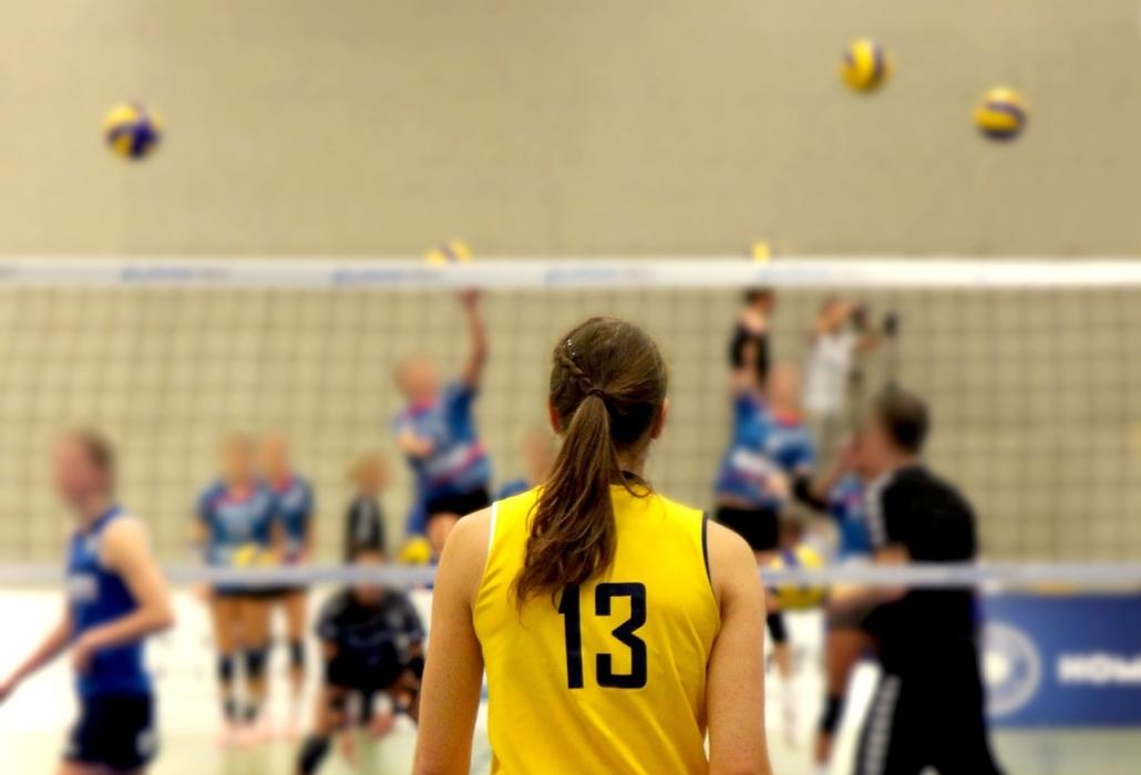 Volleyball beim Hellerhofer Sportverein